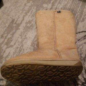 Emu tall tan boots